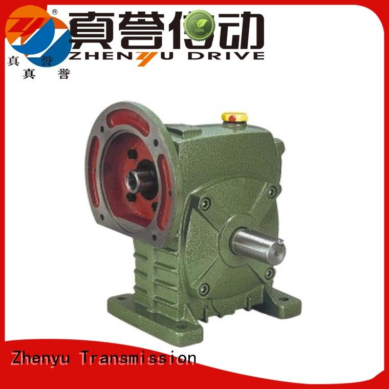Zhenyu wpx speed reducer certifications for chemical steel