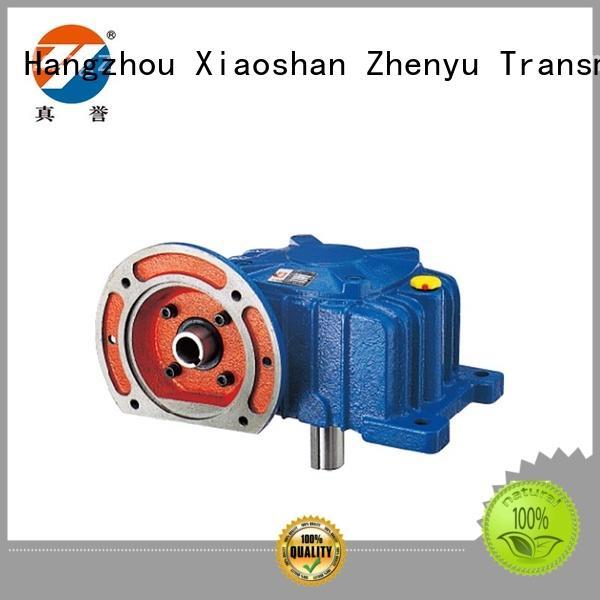 Zhenyu machine inline gear reduction box certifications for lifting