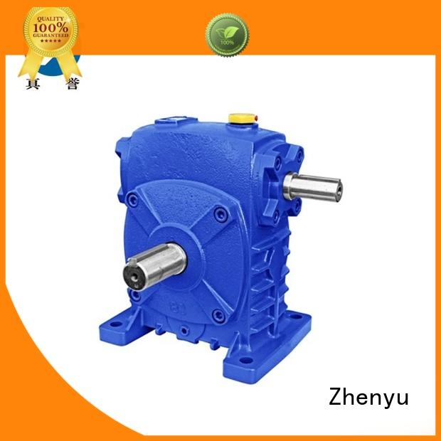 Zhenyu first-rate speed reducer gearbox China supplier for construction