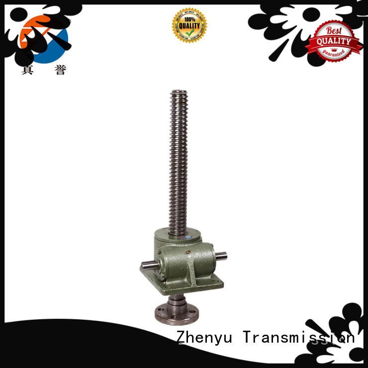 Zhenyu manual hand operated screw jack for machinery