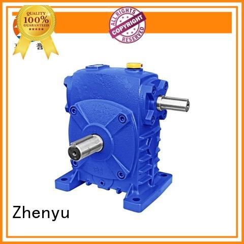 Zhenyu price speed reducer free design for mining