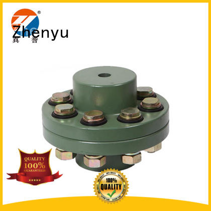 Zhenyu easy operation motor coupling types at discount for machinery