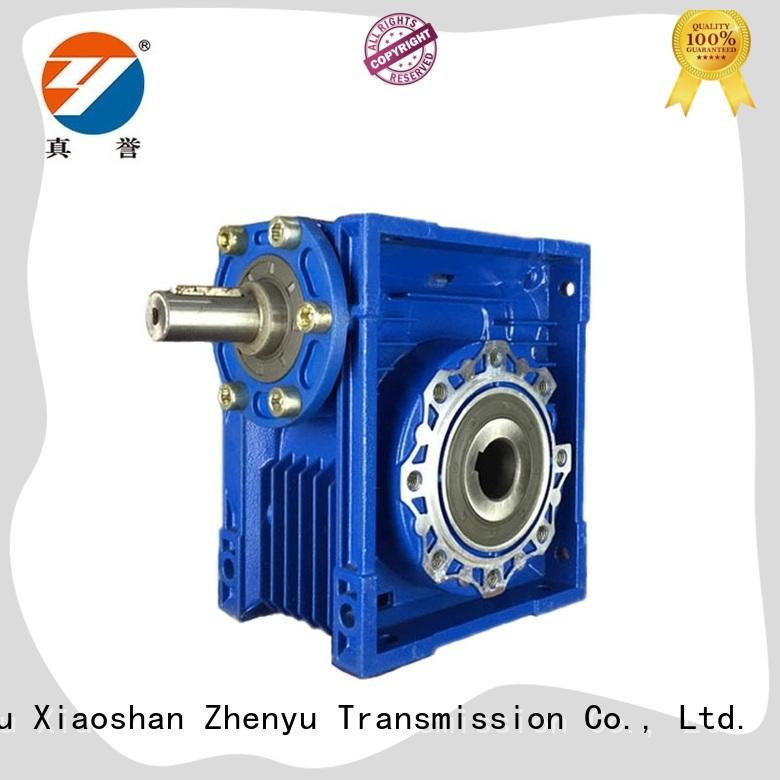 Zhenyu chinese electric motor gearbox widely-use for chemical steel