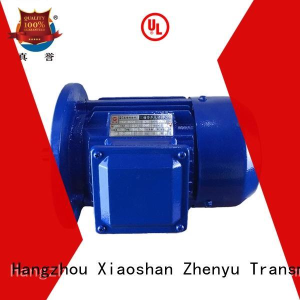 Zhenyu effective single phase electric motor free design for machine tool