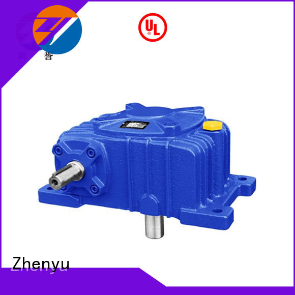 Zhenyu effective worm gear reducer long-term-use for construction