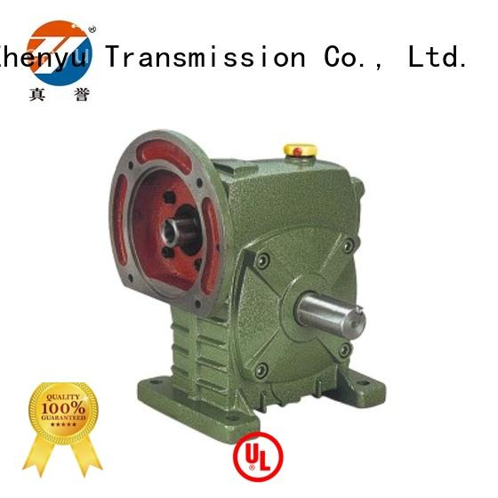 Zhenyu fine- quality worm gear speed reducer free design for printing