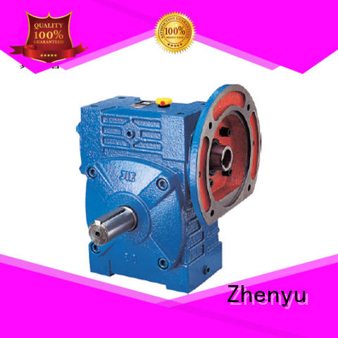 Zhenyu small reduction gear box free quote for cement