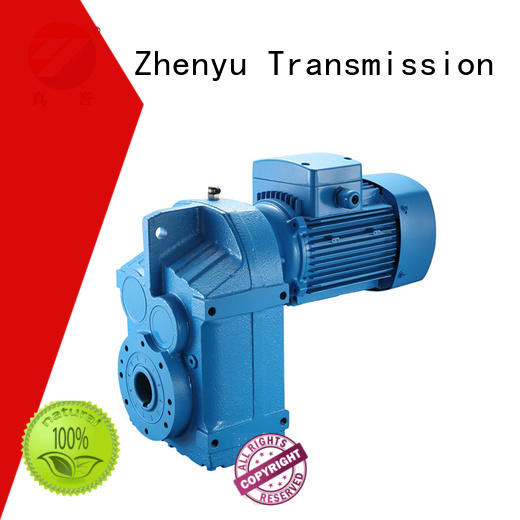 Zhenyu wpdx electric motor gearbox free design for lifting