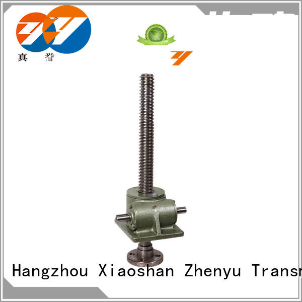 Zhenyu wheel types of screw jack for mining
