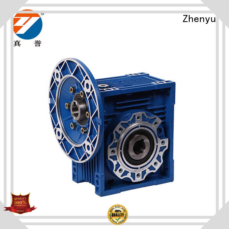 fine- quality electric speed reducer free quote for light industry Zhenyu