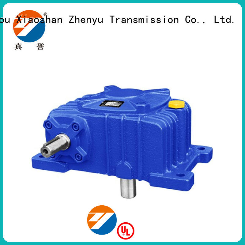 Zhenyu small worm gear reducer free quote for light industry