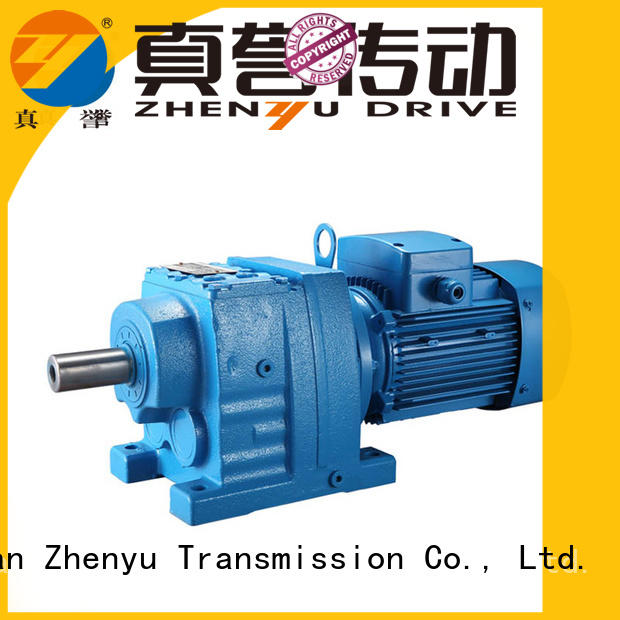 Zhenyu low cost planetary gear reducer certifications for chemical steel