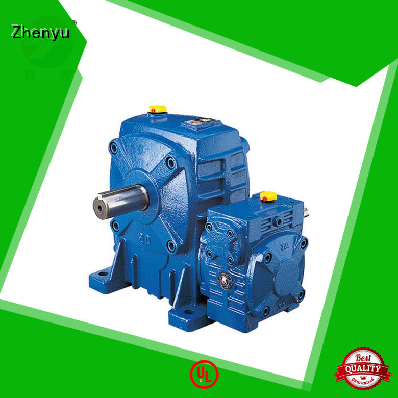 Zhenyu wpdo speed reducer gearbox free design for light industry