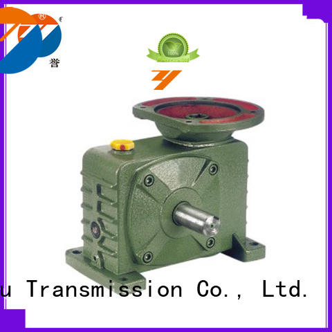Zhenyu machinery speed reducer gearbox certifications for light industry