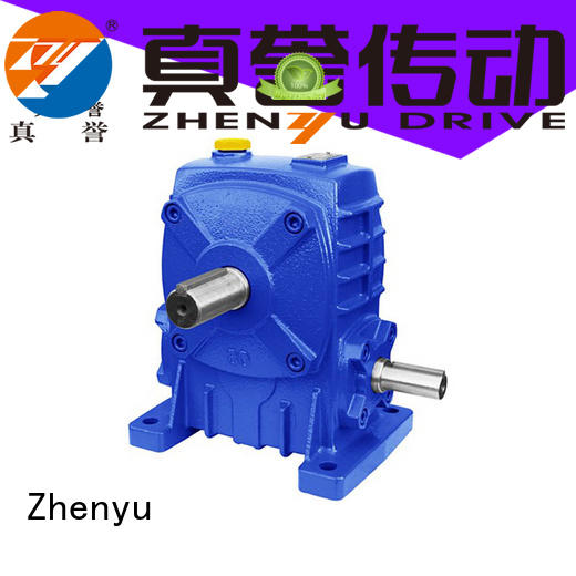 Zhenyu wpx electric motor speed reducer order now for transportation