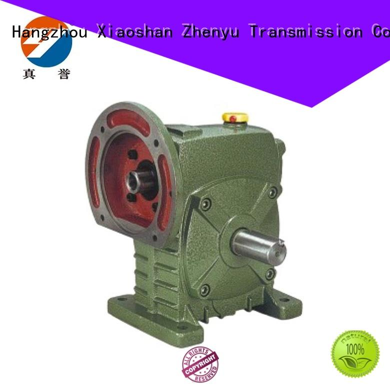 metallurgical electric motor speed reducer China supplier for light industry Zhenyu