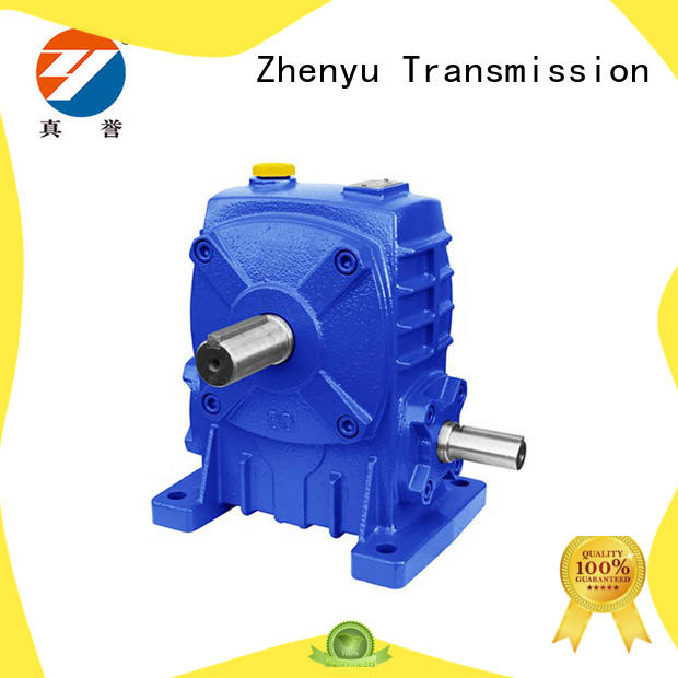 high speed gear motor wpw for transportation Zhenyu