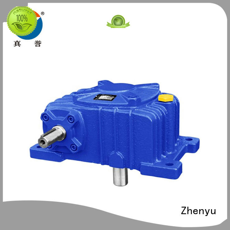 Zhenyu wpw electric motor gearbox certifications for printing