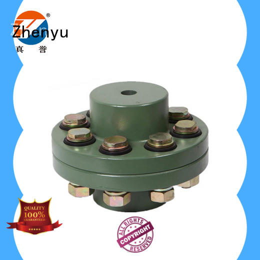 Zhenyu flexible flexible coupling types maintenance free for lifting