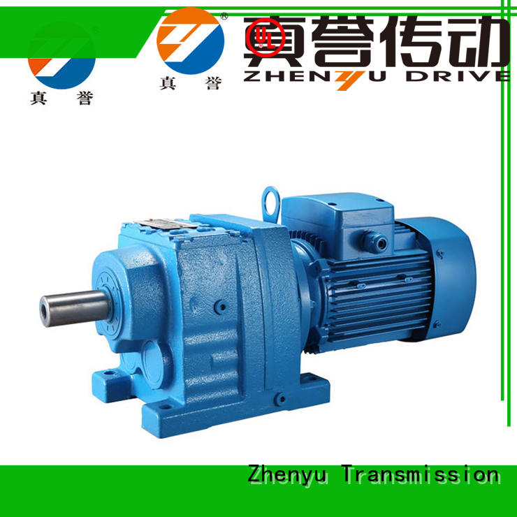 Zhenyu alloy transmission gearbox widely-use for chemical steel