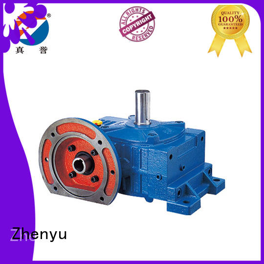 Zhenyu price electric motor gearbox for construction