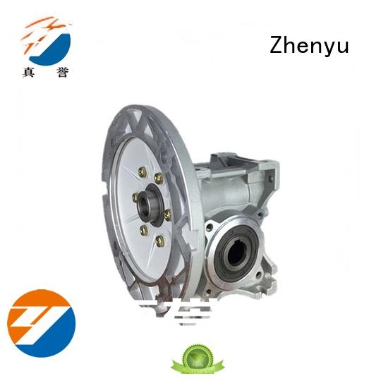 Zhenyu first-rate sewing machine speed reducer free design for transportation