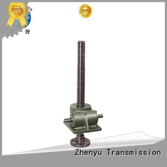 Zhenyu jack mechanical screw jack producer for mining