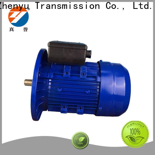 Zhenyu motor 3 phase ac motor free design for machine tool