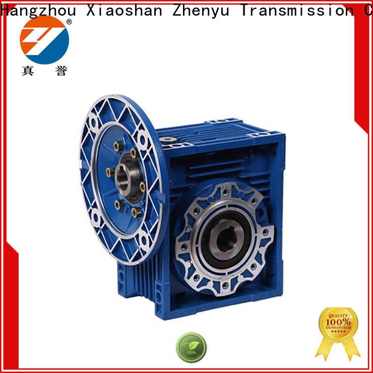 Zhenyu newly motor reducer free design for lifting