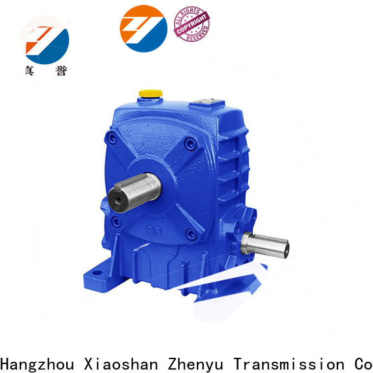 Zhenyu blue drill speed reducer order now for wind turbines
