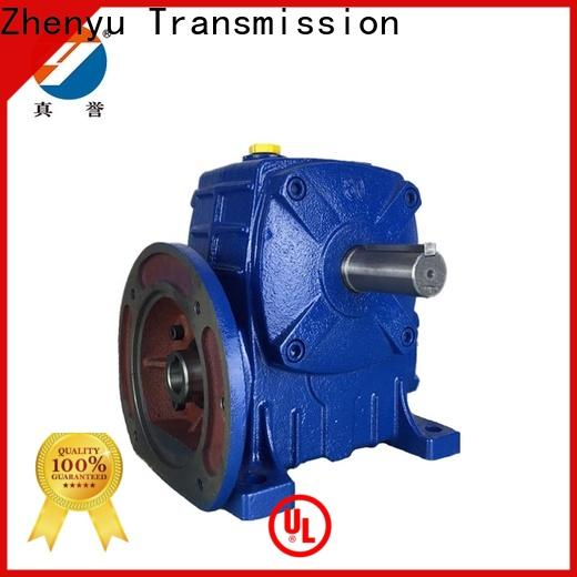 Zhenyu hot-sale gear reducer box widely-use for light industry