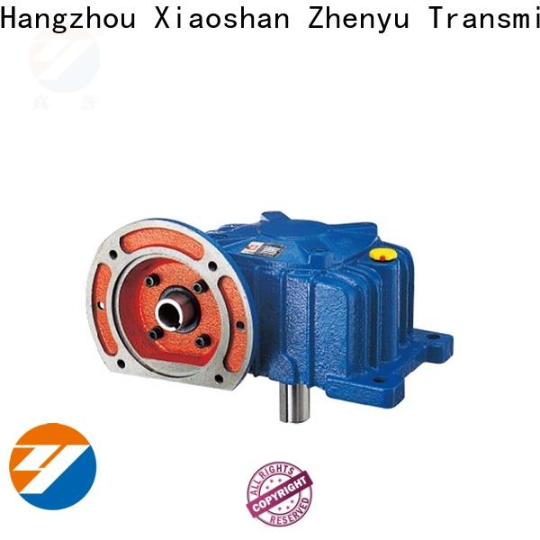 Zhenyu power worm gear speed reducer free design for light industry
