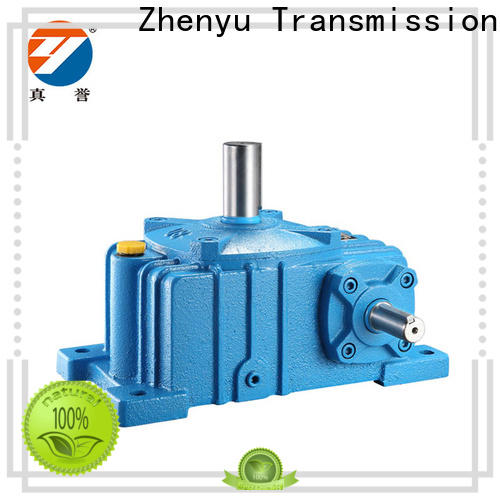 Zhenyu wpds worm drive gearbox free design for metallurgical
