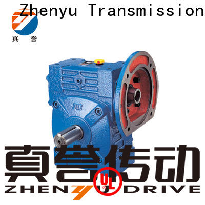 Zhenyu newly speed reducer for electric motor order now for chemical steel