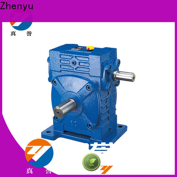 low cost inline gear reduction box wpwdo certifications for lifting