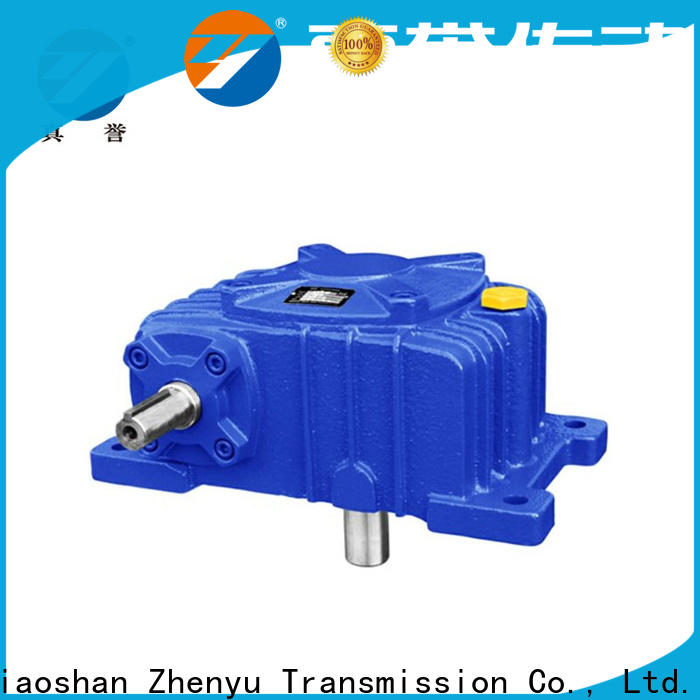 Zhenyu equipment worm drive gearbox free quote for transportation