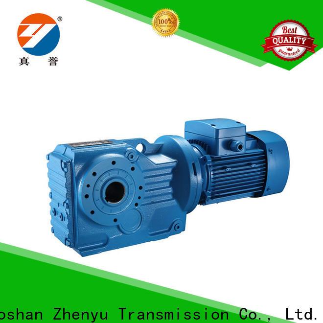 Zhenyu effective sewing machine speed reducer free design for light industry