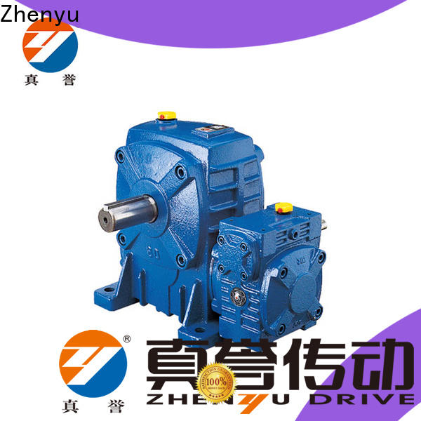 Zhenyu high-energy inline gear reduction box certifications for mining