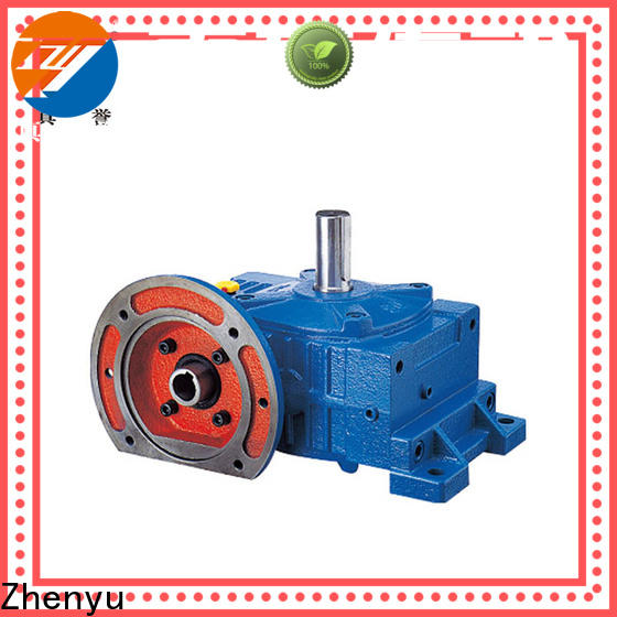Zhenyu new-arrival worm drive gearbox widely-use for mining
