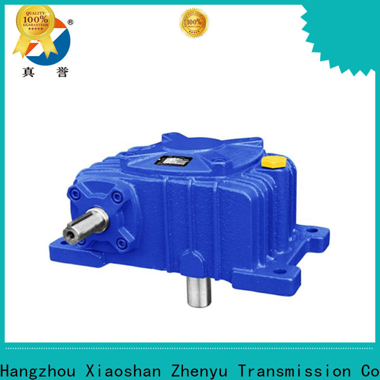 Zhenyu inline gear reducer widely-use for mining