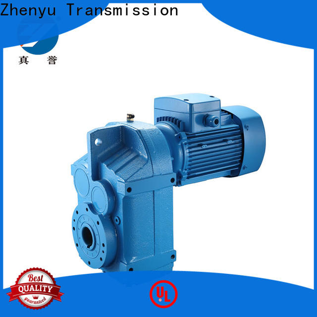 Zhenyu first-rate reduction gear box long-term-use for light industry