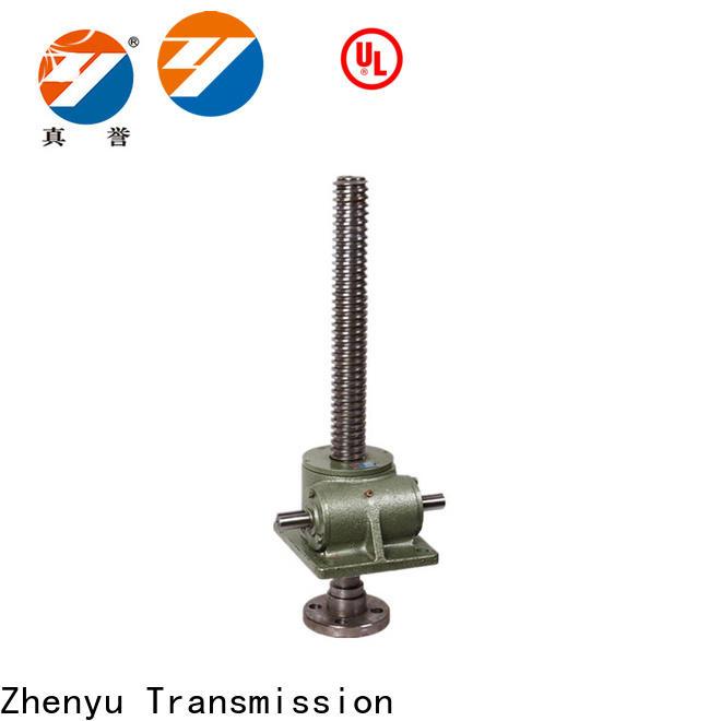 Zhenyu screw types of screw jack producer for construction