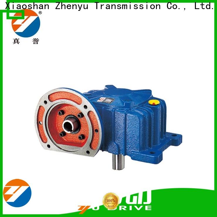 eco-friendly worm gear speed reducer price certifications for cement