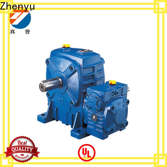 Zhenyu electric variable speed gearbox certifications for transportation