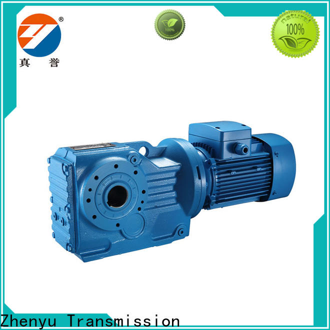 Zhenyu low cost electric motor gearbox China supplier for mining