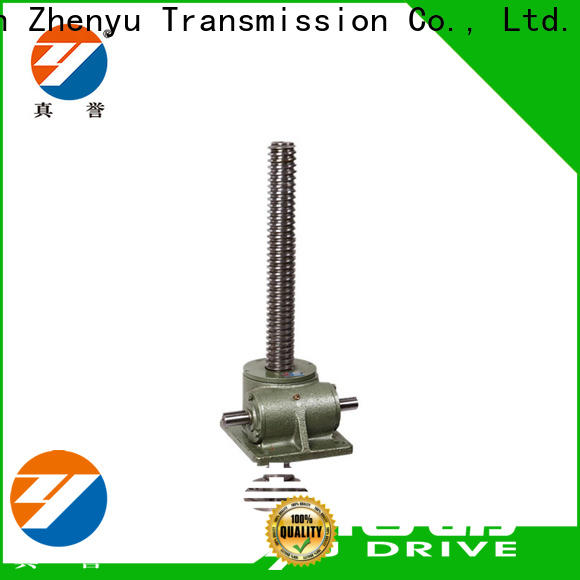 manual worm gear screw jack jack factory for mining