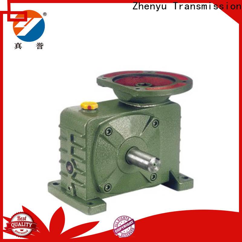 Zhenyu gearbox worm gear speed reducer China supplier for metallurgical