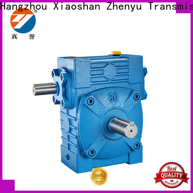 Zhenyu newly gear reducer widely-use for light industry