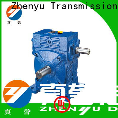 Zhenyu coaxial gearbox parts certifications for cement