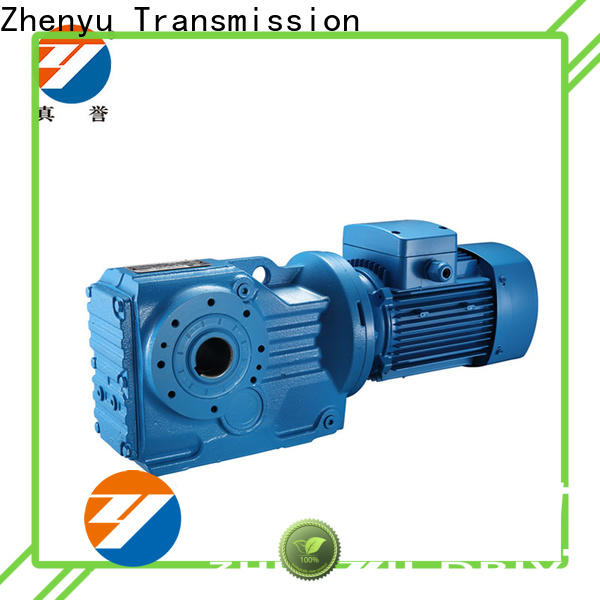 Zhenyu alloy electric motor gearbox widely-use for metallurgical